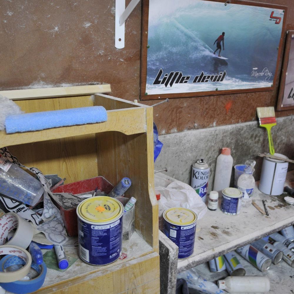 Taller de tablas de surf