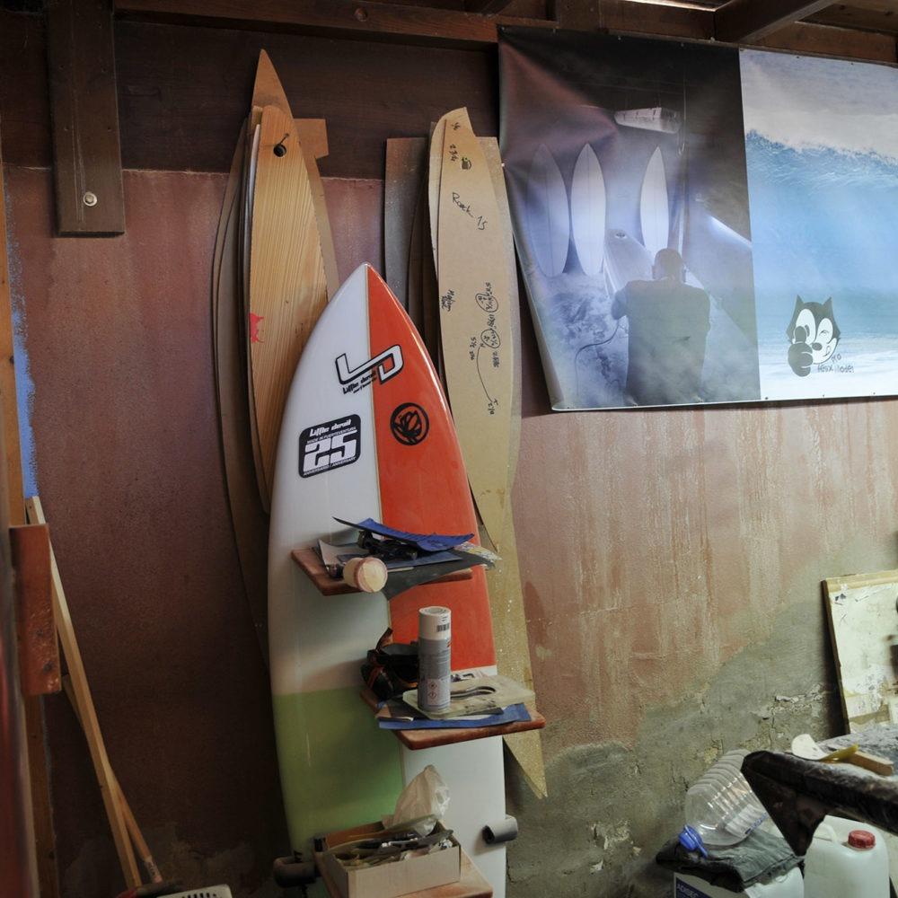 Taller de Little Devil Surfboards