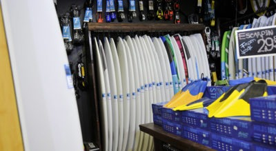 Amarraderas en Paradise Surf shop