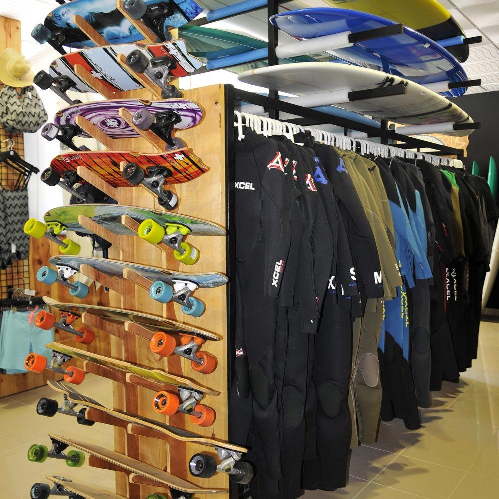 Skateboards en surf shop Protest