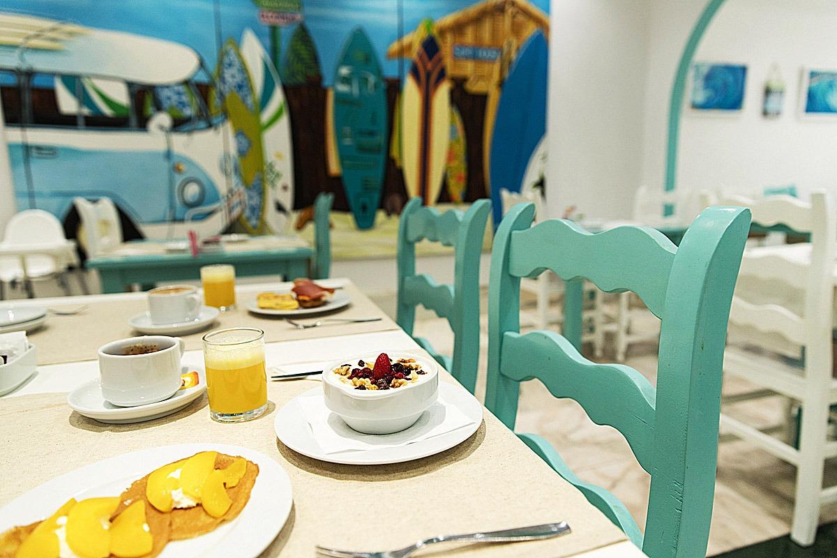 Desayuno-surf hotel
