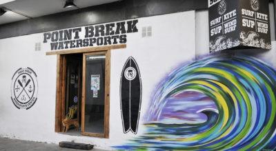 Fachada surf school