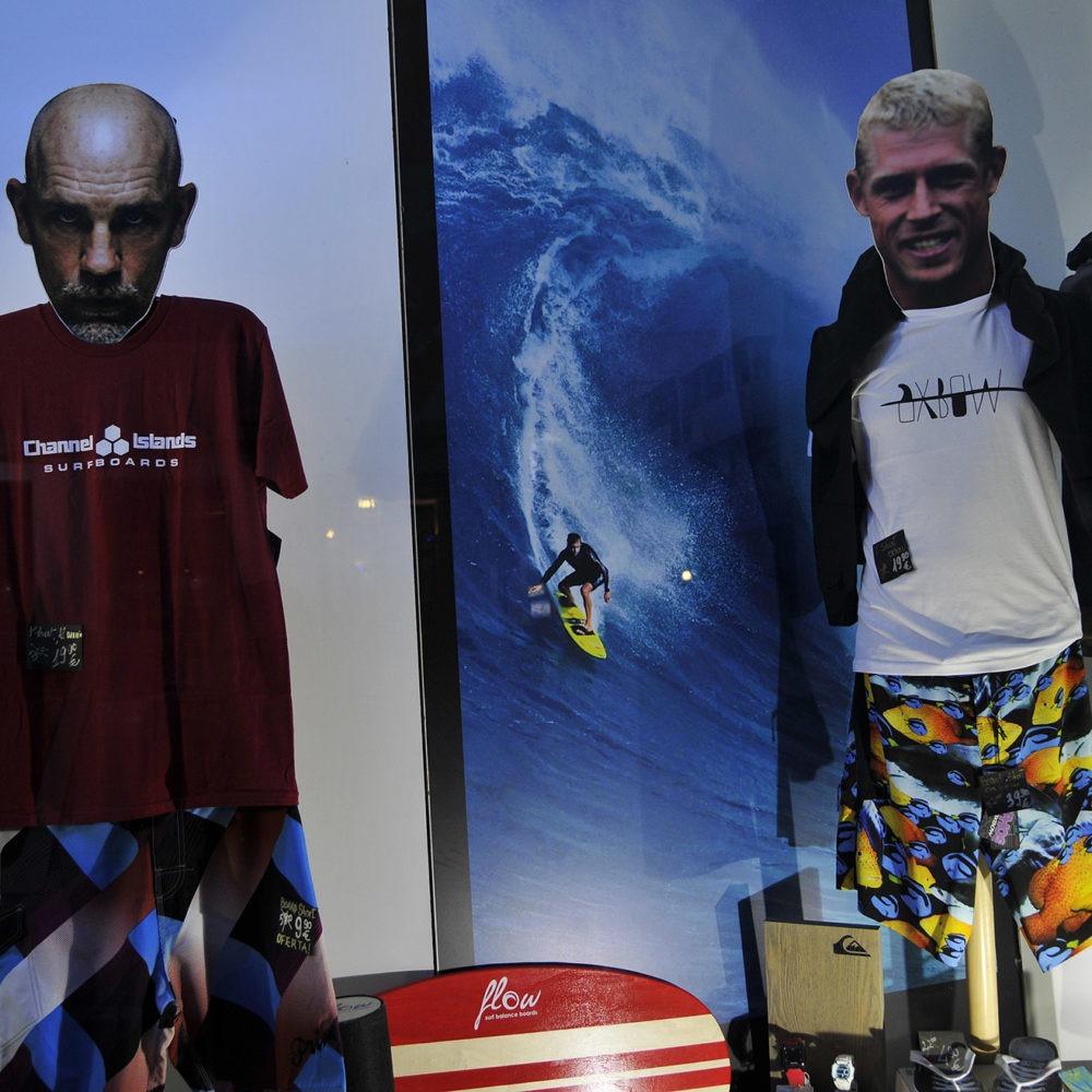 Mick en Paradise Surf Shop