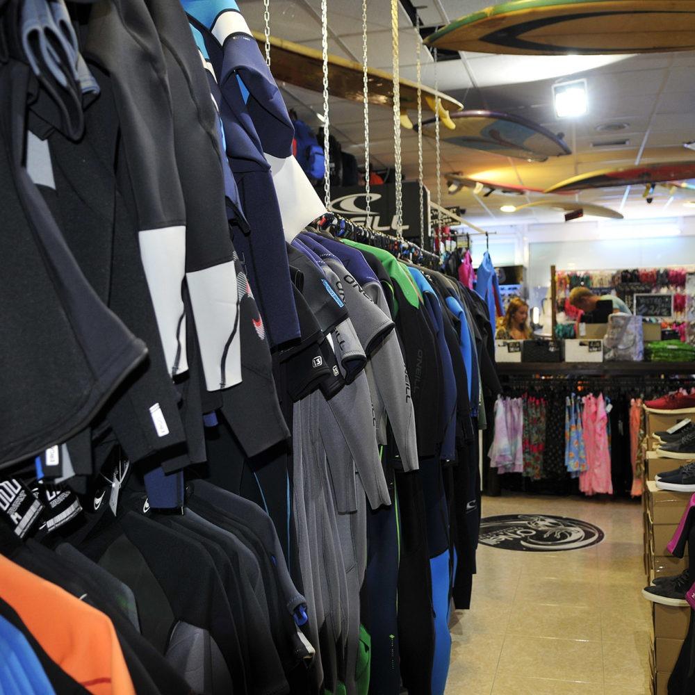 Neoprenos baratos en Paradise Surf shop