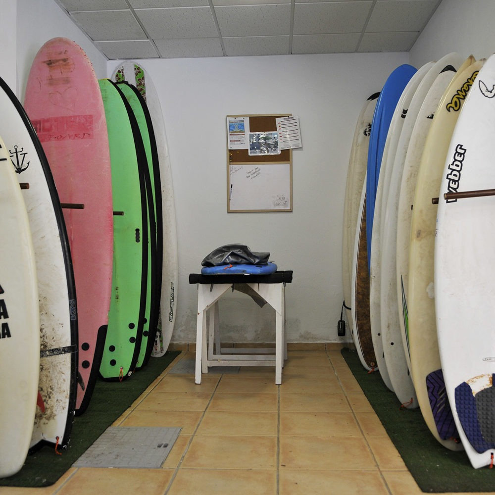 Rent a surfboard