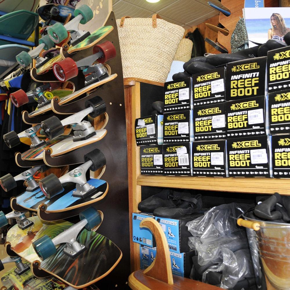 Skateboards Protest Surf Shop