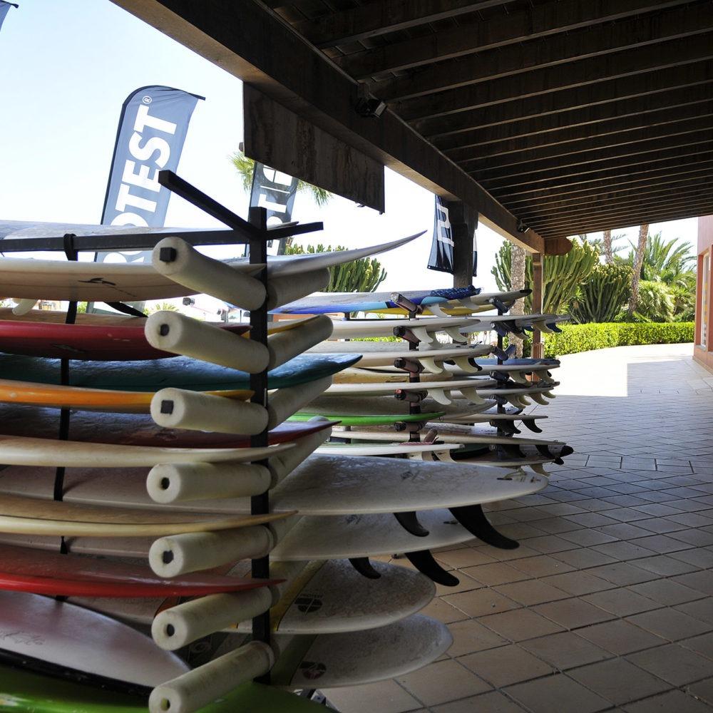 Tablas de surf entrada Surf Shop
