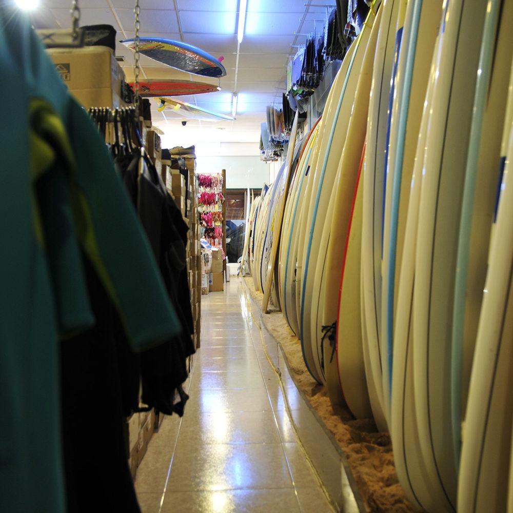 200 Tablas de surf en Corralejo