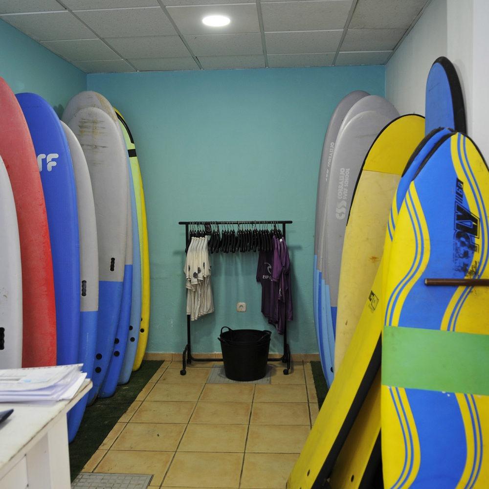 surf school boards