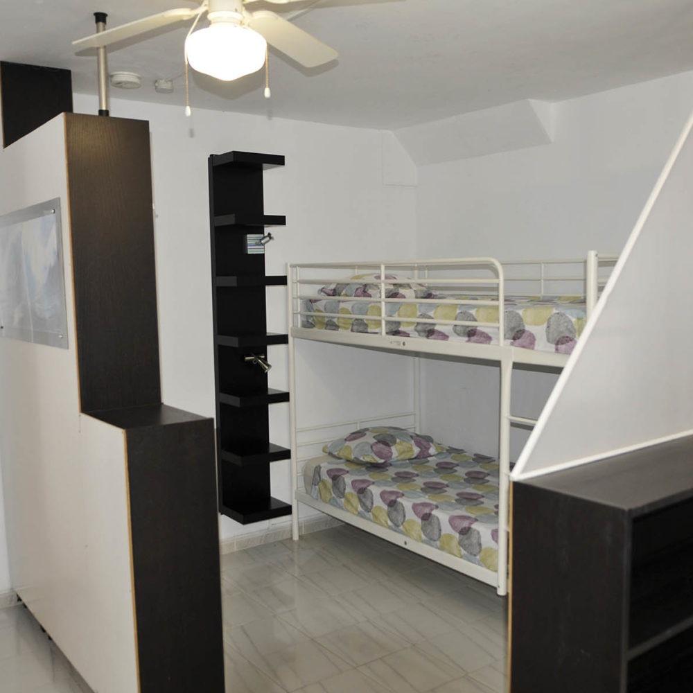 Apartment surf room