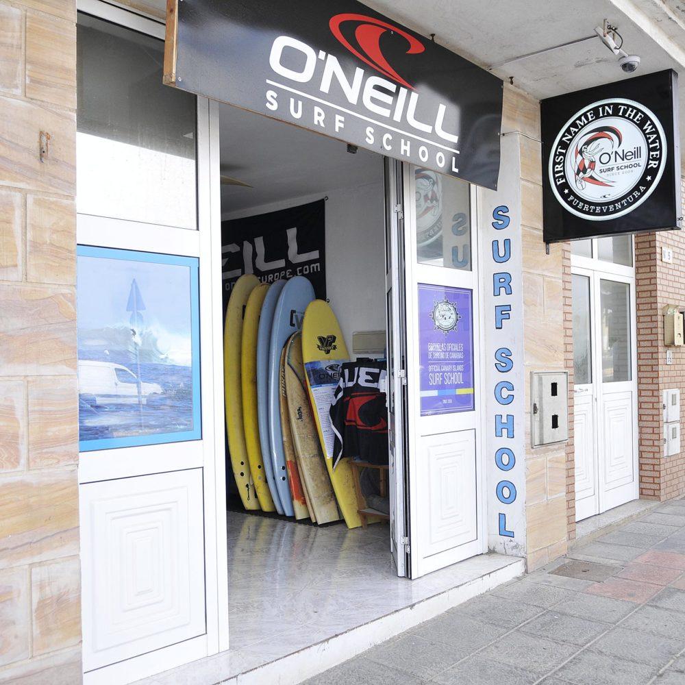 Entrada surf school 2