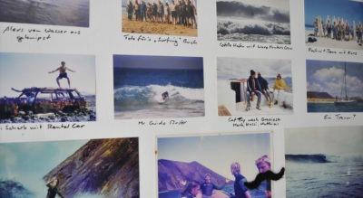 Historia de una escuela de surf en fotos