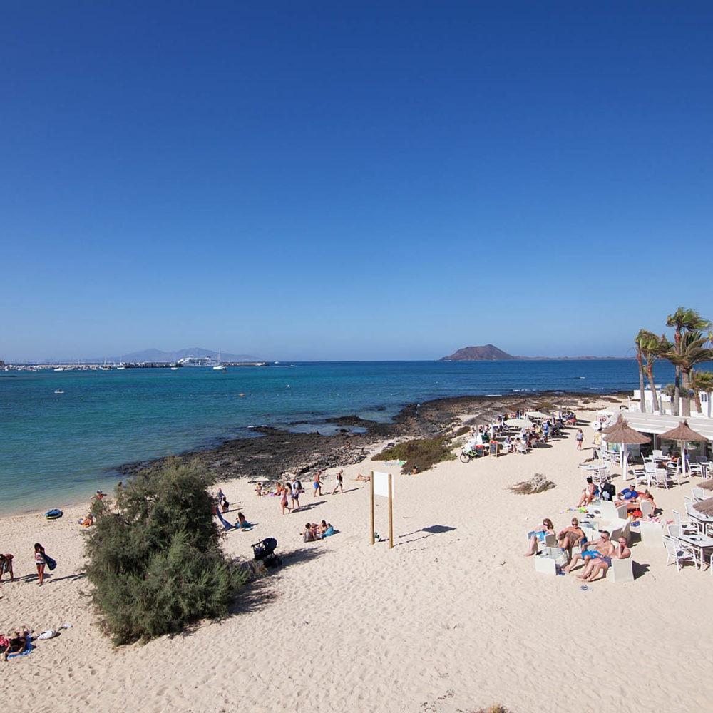 Playa de Corralejo desde Villa Bahía