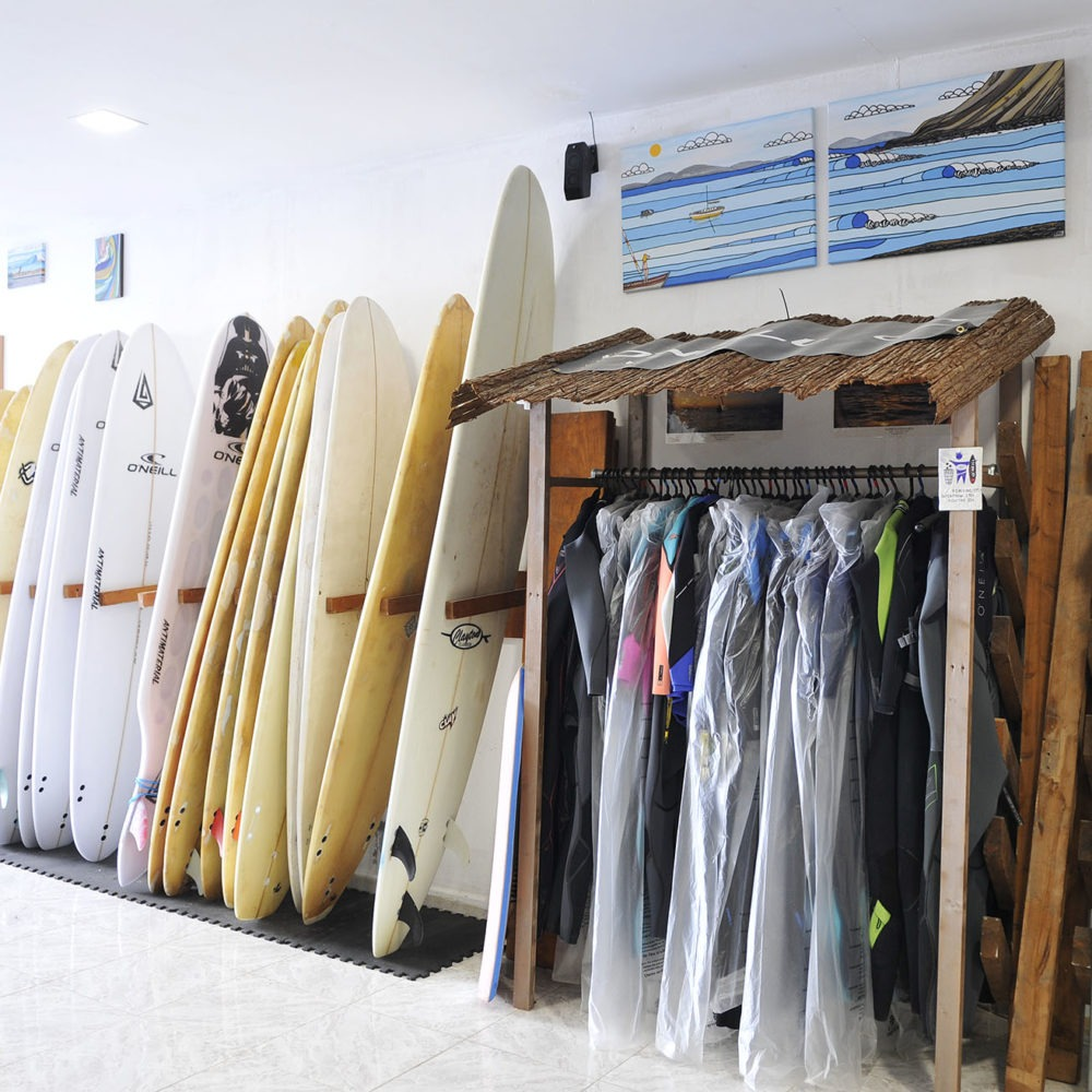 Surfboards for learning