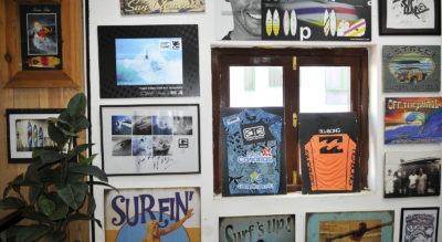 Cuadros tienda de surf King