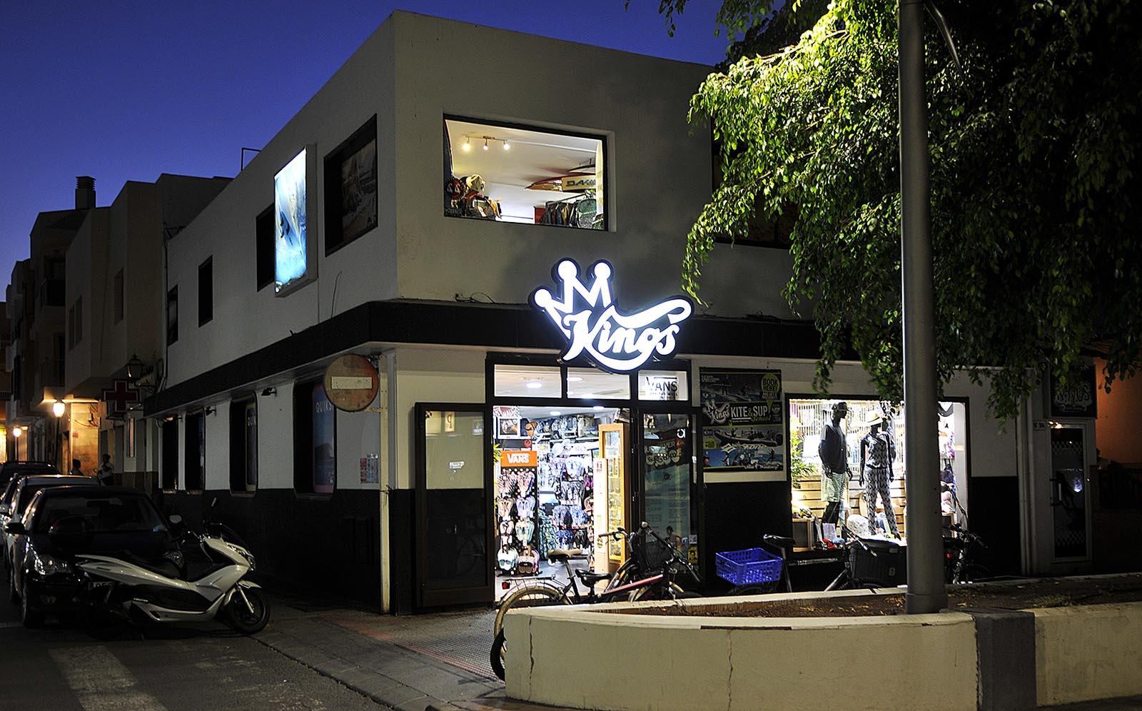 Entrada King Surf shop