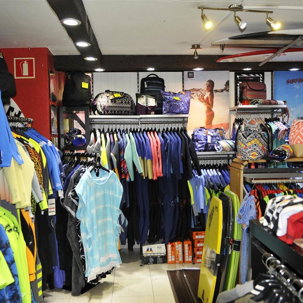 Neoprenos tienda King Surf shop Corralejo