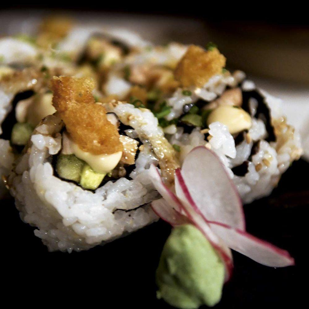 Plato de Sushi en Lajares